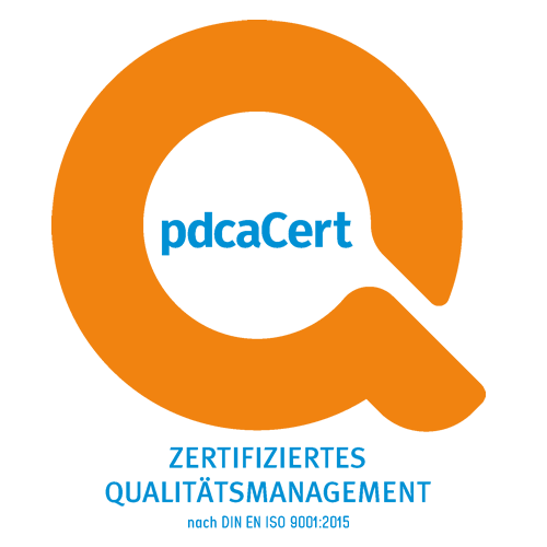 pdca Logo QM 9001 skm pumpen.center